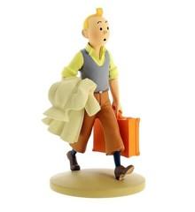 Tintin på vej - Resin Statue