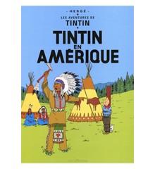 Tintin i Amerika (AMERIQUE) - Poster