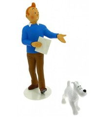 Statue - Tintin & Terry (Picaroerne)