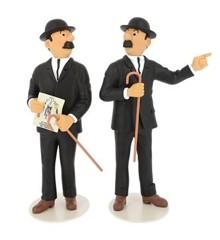 Dupond og Dupont - Tintins museum Statue