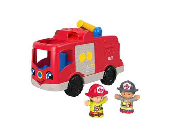 Fisher-Price - Little People - Helping Others Fire Truck (GXR95)