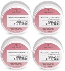 VILD NORD - Collagen RED BERRIES 4x14 G