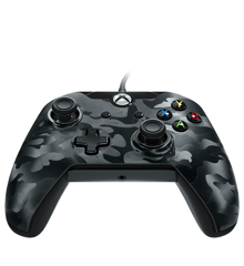 PDP Wired Controller Xbox Series X Black Camo