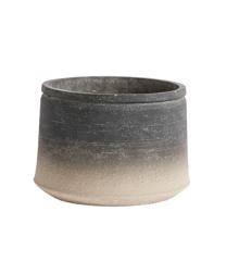 Muubs - Kanji Low Jar 21 cm - Black/Grey (9240000105)