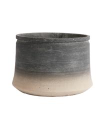 Muubs - Kanji Low Jar 34 cm - Black/Grey (9240000107)