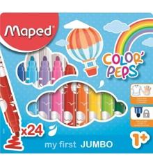 Maped - Color Peps - Mine Første Jumbo Tusser (24 stk)