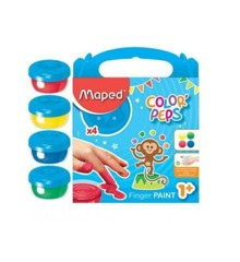 Maped - Color Peps - Min Første Jumbo Fingermaling