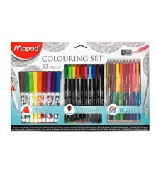 Maped - Color- and Graph Peps - Colouring Set (897417)