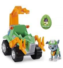 Paw Patrol - Dino Deluxe Kørertøj - Rocky