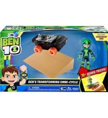 Ben 10 - Rustbuggy Ben with Skateboard (914-77405)