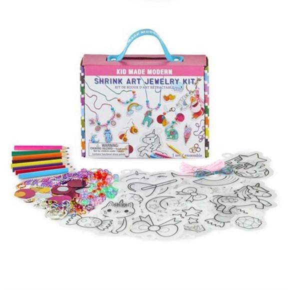 Kid Made Modern - Shrink Art Jewelry Kit (921-621)