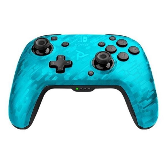 Nintendo Switch Faceoff WIRELESS Controller - PDP Camo Blue