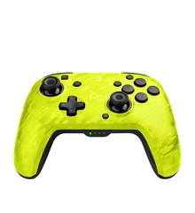 Nintendo Switch Faceoff WIRELESS Controller - PDP Camo Yellow