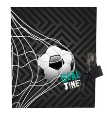 Tinka - Diary with Lock - Football (8-802431)