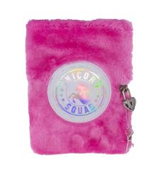 Tinka - Plush Diary with Lock - Unicorn (8-802430)