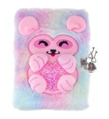 Tinka - Plush Diary with Lock - Fantasy Animal(8-4292)
