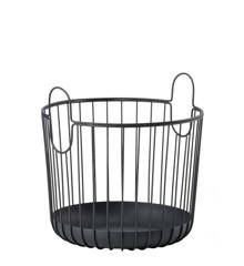 Zone Denmark - Inu Basket Ø 30 cm - Black (10554)