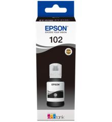 Epson - T102 EcoTank Ink Black Bottle - 127ml