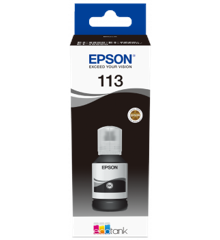 Epson - 113 EcoTank Pigment Black ink Bottle - 127ml