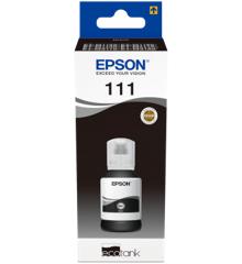 Epson - T111 EcoTank Pigmented Black Ink Bottle