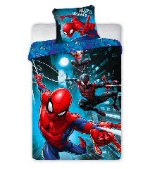 Bed Linen - Adult Size 140 x 200 cm - Spiderman (100003)