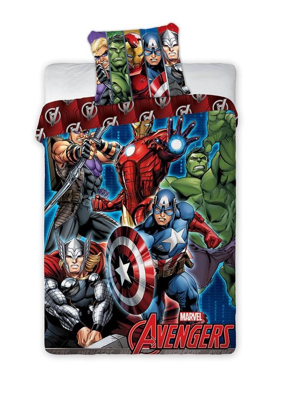 Bed Linen - Adult Size 140 x 200 cm - Avengers (1000368)