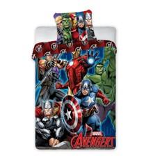 Sengetøj - Voksen str. 140 x 200 cm - Avengers