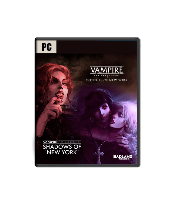 Vampire: The Masquerade - Coteries of New York + Shadows of New York - Collectors Edition