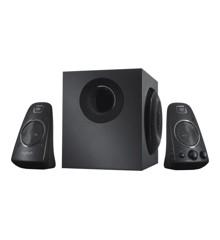 Logitech - Z623 2.1 Speaker System black