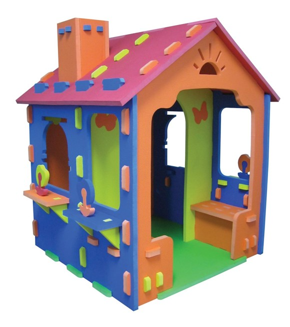SKUM - Playhouse with Terrace and Chimney (6950577)