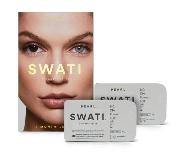 SWATI - Coloured Contact Lenses 1 Month - Pearl