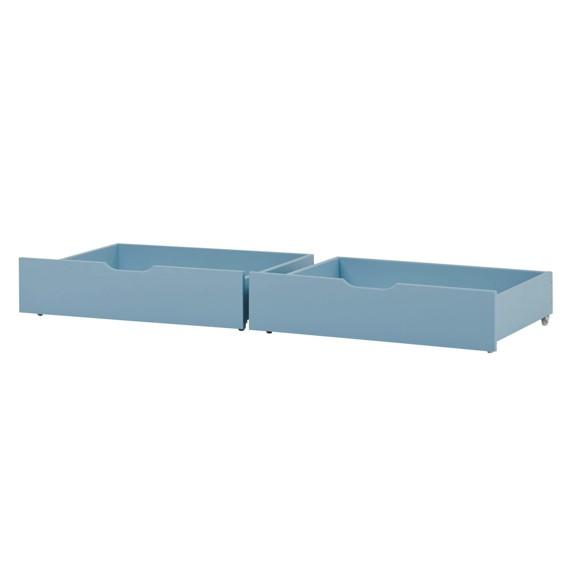 Hoppekids - IDA-MARIE Bed Drawer on Wheel 2 pcs - Dream Blue