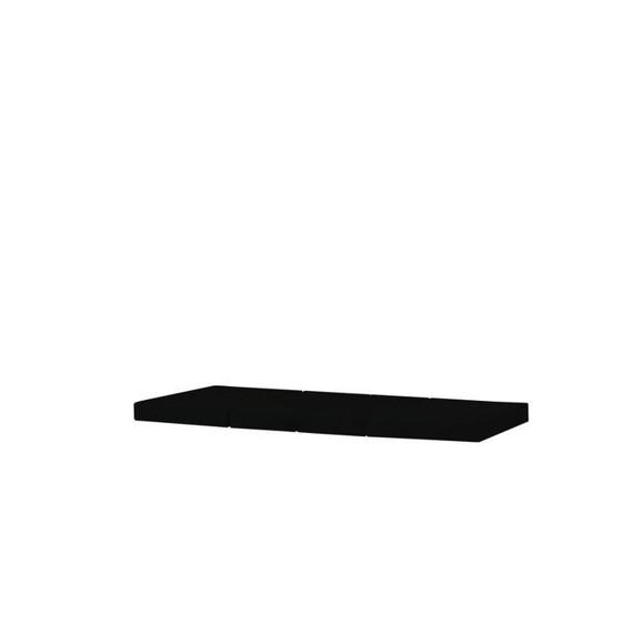 Hoppekids - 4-split Mattress for BASIC JUMBO bed - Black