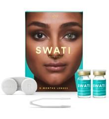 SWATI - Farvede Kontaktlinser 6 Måneder - Jade