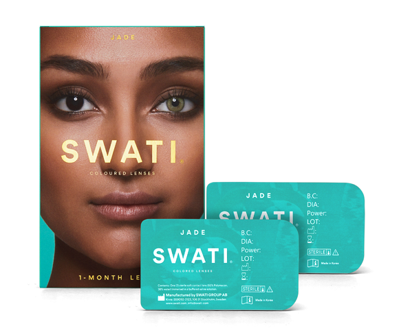 SWATI - Coloured Contact Lenses 1 Month - Jade