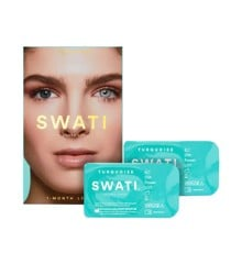 SWATI - Coloured Contact Lenses 1 Month - Turquoise