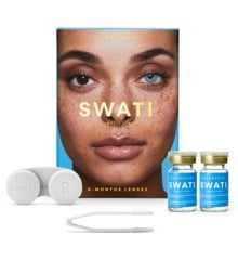 SWATI - Coloured Contact Lenses 6 Months - Aquamarine