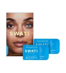 SWATI - Coloured Contact Lenses 1 Month - Aquamarine
