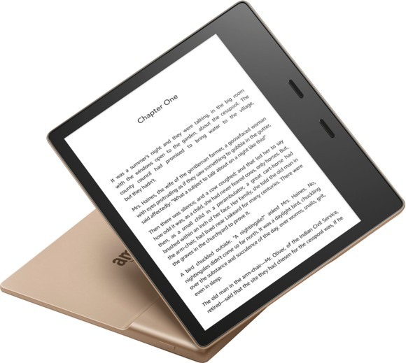 Amazon - Kindle Oasis 32GB Champagne Gold