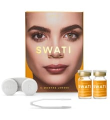 SWATI - Coloured Contact Lenses 6 Months - Honey