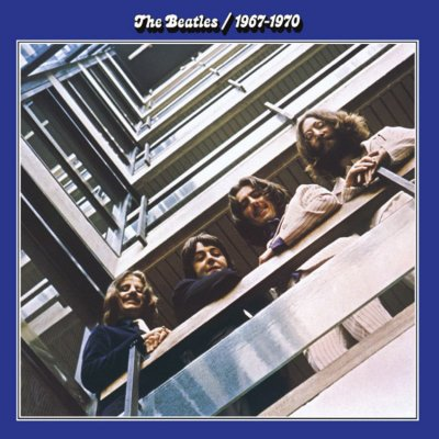 The Beatles - The Blue Album - 1967-1970 - Remastered (5099990674723)
