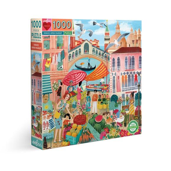 eeBoo - Puslespill - Venezia, 1000 biter