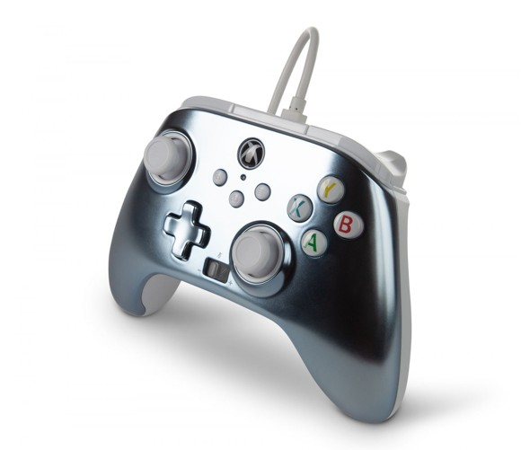 PowerA Enhanced Wired Controller For Xbox Series X - S - Metallic Ice