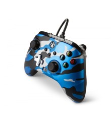 PowerA Enhanced Wired Controller For Xbox Series X - S - Blue Camo