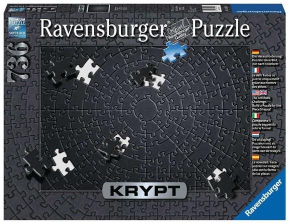 Ravensburger - Puzzle - Krypt Black, 736 pc (10215260)