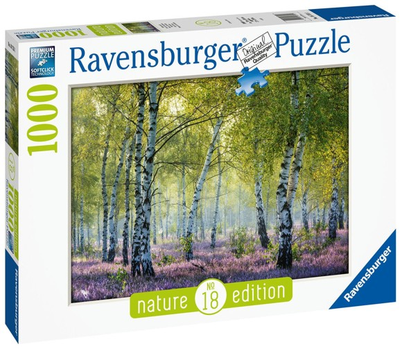 Ravensburger - Puzzle 1000 - Birch Forest (10216753)