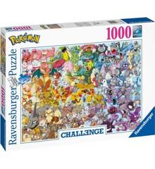 Ravensburger - Puzzle 1000 - Challenge - Pokémon (10215166)