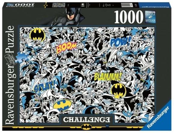 Ravensburger - Puzzle 1000 - Challenge - Batman (10216513)