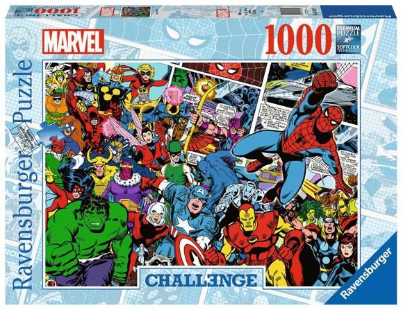 Ravensburger - Puslespl 1000 - Challenge - Marvel