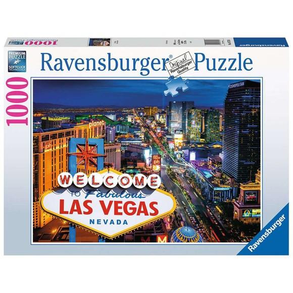 Ravensburger - Puzzle 1000 - AT Las Vegas (10216723)